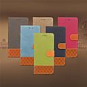 رخيصةأون حالات / أغطية ون بلس-غطاء من أجل Samsung Galaxy A3(2016) حامل البطاقات / قلب غطاء كامل للجسم لون سادة ناعم جلد PU