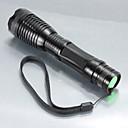 رخيصةأون اضواء الدراجة-5 LED Flashlights LED LED 1 بواعث 1200 lm 5 إضاءة الوضع تكتيكي زوومابلي ضد الماء Camping / Hiking / Caving Everyday Use أخضر
