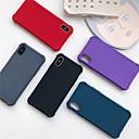저렴한 마우스-케이스 제품 Apple iPhone XR / iPhone XS Max 충격방지 / 반투명 뒷면 커버 솔리드 소프트 TPU 용 iPhone XS / iPhone XR / iPhone XS Max
