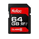 abordables Pulseras-Netac 64GB tarjeta de memoria UHS-I U1 / Clase 10 p600
