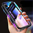 levne iPhone pouzdra-pouzdro pro iPhone xr xs xs max nárazuvzdorné transparentní magnetické pouzdro pevné barevné tvrzené sklo pro iPhone x 8 8 plus 7 7plus 6s 6s plus se 5 5s