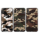 abordables Coques d'iPhone-Coque Pour Apple iPhone XR / iPhone XS Max Dépoli / Motif Coque Camouflage Flexible TPU pour iPhone XS / iPhone XR / iPhone XS Max