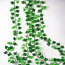 رخيصةأون أزهار اصطناعية-زهور اصطناعية 1 فرع معلقة على الحائط معلق الزفاف النمط الرعوي نباتات أزهار الحائط