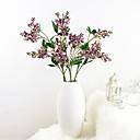 رخيصةأون أزهار اصطناعية-زهور اصطناعية 1 فرع كلاسيكي أوروبي النمط الرعوي نباتات أزهار الطاولة