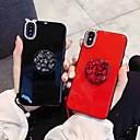 levne iPhone pouzdra-Carcasă Pro Apple iPhone XS Max / iPhone 6 Nárazuvzdorné / se stojánkem Zadní kryt Štras Měkké Silica gel pro iPhone XS / iPhone XR / iPhone XS Max