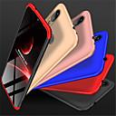 رخيصةأون Xiaomi أغطية / كفرات-غطاء من أجل Xiaomi Xiaomi Redmi Note 5 Pro / Xiaomi Pocophone F1 / Xiaomi Redmi 6 Pro مثلج غطاء كامل للجسم لون سادة قاسي الكمبيوتر الشخصي