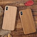 رخيصةأون أغطية أيفون-غطاء من أجل Apple iPhone XS / iPhone XR / iPhone XS Max ضد الصدمات / نحيف جداً غطاء خلفي خشب ناعم TPU