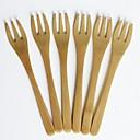 ieftine Farfurii-Material de construcții Comun / Clasic Ustensile de Gătit În Aer Liber / Furculițe, Calitate superioară 6pcs