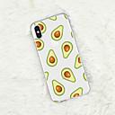 رخيصةأون أغراض الحماية-غطاء من أجل Apple iPhone XS / iPhone XR / iPhone XS Max نموذج غطاء خلفي مأكولات / فاكهة ناعم TPU