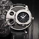levne Pánské-Pánské Sportovní hodinky Křemenný Kůže Černá Odolný vůči nárazu Cool Analogové Módní Kostra - Černá Jeden rok Životnost baterie