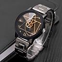 preiswerte Bürobedarf-Herrn Uhr Kleideruhr Quartz Edelstahl Schwarz Armbanduhren für den Alltag Cool Analog Freizeit Modisch Weiß Schwarz / Ein Jahr