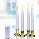 ieftine Kit De Activitate De Copii-Decoratiuni de vacanta Anul Nou / Christmas Decorations Lumini De Crăciun Lumină LED / Kituri Alb 4 buc