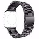ieftine Accesorii Ceasuri-Oțel inoxidabil Uita-Band Curea pentru Negru 19cm / 7.48 Inci 2.4cm / 0.94 Inchi