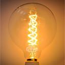 abordables Bombillas Incandescentes-1pc 60 W G125 Cuerpo transparente Bombilla incandescente Vintage Edison 220-240 V