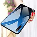 رخيصةأون Xiaomi أغطية / كفرات-غطاء من أجل Xiaomi Xiaomi Pocophone F1 / Xiaomi Mi 8 / Xiaomi Mi 9 SE مرآة غطاء خلفي لون سادة قاسي زجاج مقوى
