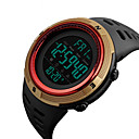 cheap Car Tail Lights-SKMEI Men's Dress Watch Japanese Digital Stainless Steel Silicone Black 50 m Water Resistant / Waterproof Calendar / date / day Stopwatch Digital Casual Outdoor Colorful - Red Blue Golden