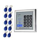 ieftine Access Control & Attendance Systems-5YOA AC-10KeyTK4100 Setarea sistemului de control al accesului / Tastatura de control al accesului RFID Parola / Card ID Acasă / Apartament / Școală