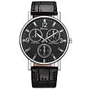 ieftine Ceasuri Bărbați-Bărbați Ceas Elegant Aviation Watch Quartz Piele Negru / Maro Ceas Casual Analog Modă minimalist Aristo - Maro Albastru Negru / Alb Un an Durată de Viaţă Baterie / Oțel inoxidabil