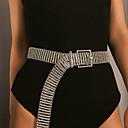 preiswerte Körperschmuck-Damen Körperschmuck 102 cm Hüftkette Silber Einzigartiges Design versilbert / vergoldet Modeschmuck Für Hochzeit / Party / Verlobung Sommer