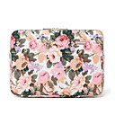 "cheap Laptop Bags & Backpacks-14"" Laptop Sleeve Canvas Floral Print Unisex Shock Proof"
