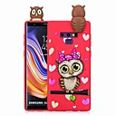 abordables Fundas / Carcasas para Galaxy Serie J-Funda Para Samsung Galaxy Note 9 / Nota 8 Diseños Funda Trasera Animal / Caricatura Suave TPU para Note 9 / Note 8