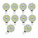 abordables Luces LED de Doble Pin-10pcs 3 W Luces LED de Doble Pin 300 lm G4 12 Cuentas LED SMD 5730 Decorativa Adorable Blanco Cálido Blanco Fresco 12 V