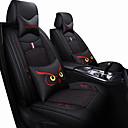 ieftine Imbracaminte & Accesorii Căței-scaunul auto acoperă tetiera& talpa pernei kituri negru / albastru / negru / rosu / negru / maro poliester tesatura comune / de afaceri pentru universal de ani buni