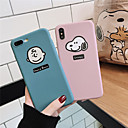 cheap iPhone Cases-Case For Apple iPhone XR / iPhone XS Max Pattern / Frosted Back Cover Cartoon / Word / Phrase Soft TPU for iPhone X /Xs / 6 /6 Plus / 6S /6S Plus / 7 / 7 Plus / 8 / 8 Plus