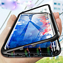 billige Etuier / covers til Galaxy S-modellerne-Etui Til Samsung Galaxy S9 Plus / S7 Gennemsigtig Fuldt etui Ensfarvet Hårdt Tempereret glas for S9 / S9 Plus / S8 Plus