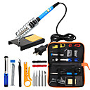 cheap Soldering Iron & Accessories-Electric Soldering Iron Set 936 Temperature-adjustable Soldering Iron Portable 14 Maintenance Welding Tools