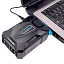 billige USB-gadgeter-COOLCOLD BM3 Laptop vakuumkjøler ABS plast Bærbar Justerbar viftehastighet Justerbar vinkel Fan