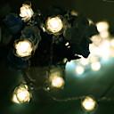 ieftine Lumini de Ceață Mașină-10m Fâșii de Iluminat 100 LED-uri Alb Cald Decorativ 220-240 V 1set