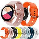 رخيصةأون أساور ساعات Garmin-حزام إلى Gear S2 / Samsung Galaxy Watch 42 / Samsung Galaxy Active Samsung Galaxy عصابة الرياضة سيليكون شريط المعصم