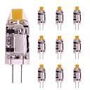 ieftine Becuri LED Bi-pin-10pcs 1 W Becuri LED Bi-pin 160 lm G4 T 1 LED-uri de margele COB Alb Cald Alb 12 V