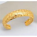 ieftine Coliere-Bărbați Brățări Bantă Clasic Bucurie Stilat Teak Bijuterii brățară Auriu / Argintiu Pentru Cadou Zilnic