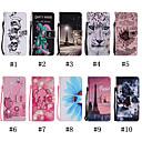 رخيصةأون أغطية أيفون-غطاء من أجل Apple iPhone XS / iPhone XR / iPhone XS Max محفظة / حامل البطاقات / مع حامل غطاء كامل للجسم قطة / حيوان / جماجم ناعم جلد PU