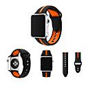 povoljno Apple Watch remeni-Pogledajte Band za Apple Watch Series 4/3/2/1 Apple Sportski remen Silikon Traka za ruku