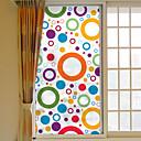 billige Window Treatments-Vinduespil og klistermærker Dekoration Moderne / Geometrisk Geometrisk PVC Vinduessticker / Anti-reflektion
