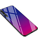 رخيصةأون Huawei أغطية / كفرات-غطاء من أجل Huawei هواوي P30 / Huawei P30 Pro ضد الصدمات / مرآة / بريق لماع غطاء خلفي لون متغاير ناعم TPU / زجاج مقوى