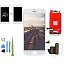 cheap CCTV Systems-2019 new Replacement LCD Display Touch Screen Digitizer Assembly  Front Panel Kit with Disassembly Tools for iPhone 7 Plus QYQfashion