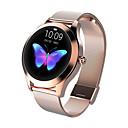 رخيصةأون الأساور الذكية-kw10 الأزياء الذكية مشاهدة النساء جميل سوار القلب رصد معدل النوم رصد smartwatch ربط ios الروبوت