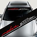رخيصةأون ملصقات السيارة-الملونة ملصقات الديكور سيارة الشارات العاكسة التصميم الأمامي ملصق صائق الزجاج الأمامي