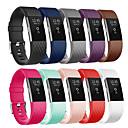 Χαμηλού Κόστους Λουράκια καρπού για Fitbit-αθλητικό σιλικόνης βραχιολάκι βραχιολιών βραχιολιών ρολογιών βραχιόλι ρολογιών για φορτίο fitbit 2 έξυπνο ρολόι