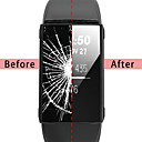 رخيصةأون حالات ساعة ذكية-غطاء من أجل Fitbit Fitbit Charge 3 سيليكون فيتبيت