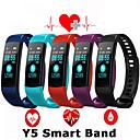 رخيصةأون الأساور الذكية-Y5 الفرقة الذكية ووتش شاشة ملونة معصمه معدل ضربات القلب اللياقة البدنية تعقب الذكية سوار الالكترونيات