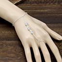 ieftine Ceasuri Damă-Pentru femei Brățări cu Lanț & Legături Ring Bracelets Sclavii de aur Plin de graţie femei Boem Boho Delicat Aliaj Bijuterii brățară Auriu / Argintiu Pentru Ocazie specială Aniversare Zi de Naștere