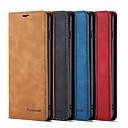 Недорогие Чехлы и кейсы для Galaxy S-Кейс для Назначение SSamsung Galaxy S9 / S9 Plus / S8 Plus Кошелек / Бумажник для карт / Защита от удара Чехол Однотонный Твердый Кожа PU