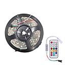 ieftine Benzi Lumină LED-brelong smd5050 5m 300L epoxidic impermeabil bară de lumină 21 controler cheie infraroșu
