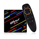 ieftine Cutii TV-4g 64gb cutie de televiziune h96 max + android 8.1 cutie inteligentă de televiziune rk3328 quad-core 64bit cortex-a53 penta-core mal-450 până la 750mhz + hd / h.265 / cabină dual-wifi inteligentă cu