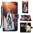Недорогие Чехлы и кейсы для Galaxy S5 Mini-Кейс для Назначение SSamsung Galaxy S9 / S9 Plus / S8 Plus Кошелек / Бумажник для карт / со стендом Чехол Кот / Животное Твердый Кожа PU